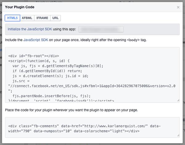 Facebook New App Code