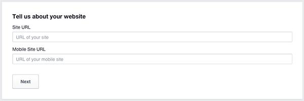 Facebook New App Site Name